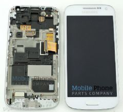 Genuine Samsung Galaxy S4 Mini VE i9195i LCD + Digitiser White - Part No: GH97-16992B